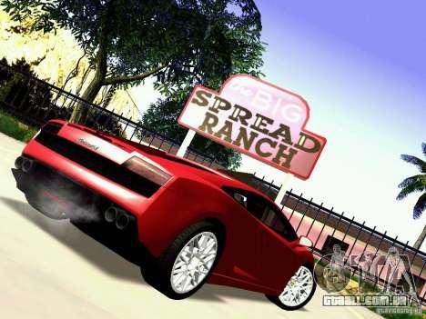 Lamborghini Gallardo LP560-4 para GTA San Andreas vista direita
