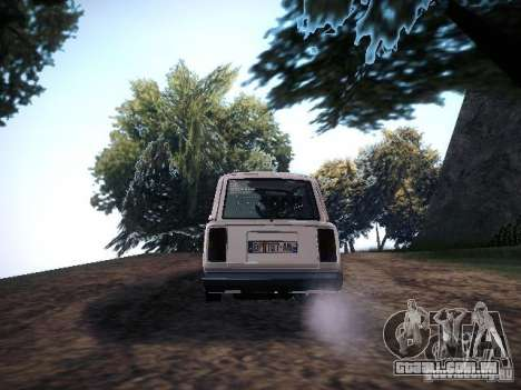 Ar Vaz 2104 para GTA San Andreas traseira esquerda vista
