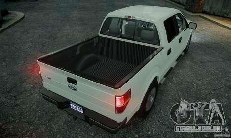 Ford F150 XLT v1.3 para GTA 4 traseira esquerda vista