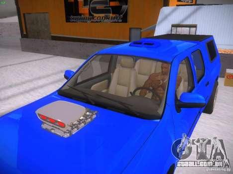 Chevrolet Silverado para GTA San Andreas vista traseira