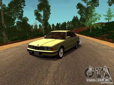 BMW 535 para GTA San Andreas esquerda vista