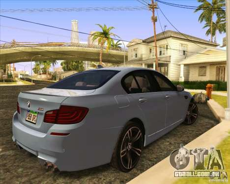 NFS The Run ENBSeries by Sankalol para GTA San Andreas sexta tela