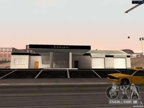 Nova garagem em San Fierro para GTA San Andreas