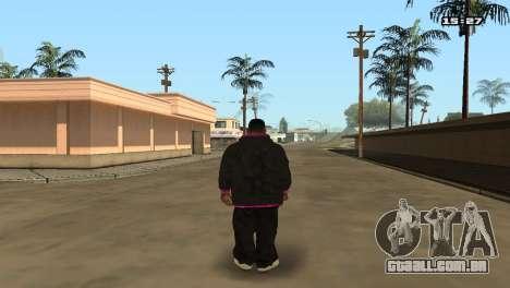 Skin Pack Ballas para GTA San Andreas sexta tela