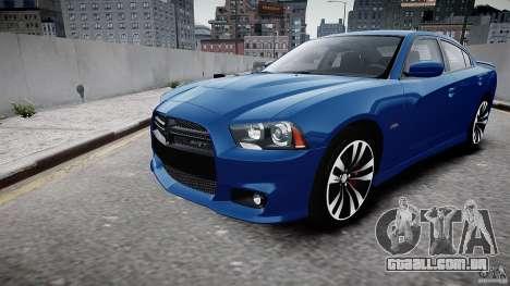 Dodge Charger SRT8 2012 para GTA 4 esquerda vista