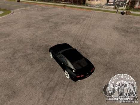 Chevrolet Camaro Concept para GTA San Andreas vista direita
