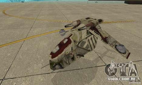 República Gunship de Star Wars para GTA San Andreas