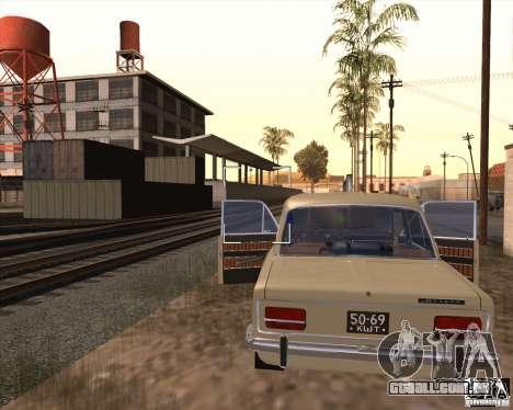 VAZ-2103 para GTA San Andreas traseira esquerda vista