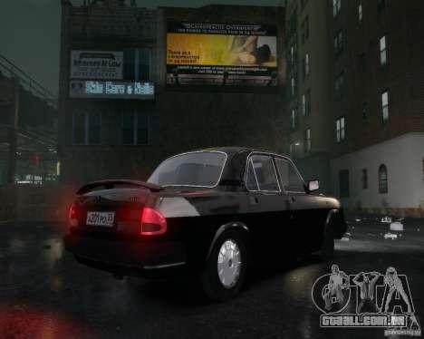 Volga GAZ 3110 para GTA 4 vista superior