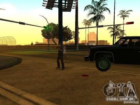 Polícia camuflada para GTA San Andreas por diante tela