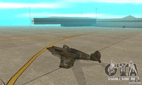 P-35 para GTA San Andreas traseira esquerda vista