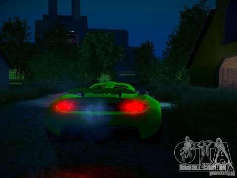 Hennessey Venom GT Spyder para o motor de GTA San Andreas