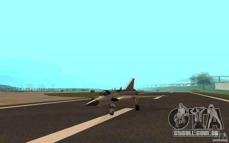 Saab J-35 Draken para GTA San Andreas