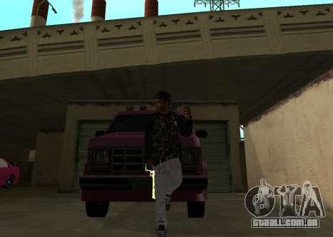 A$AP Rocky para GTA San Andreas segunda tela