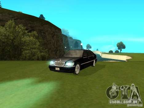 Mercedes-Benz 600 W140 para GTA San Andreas vista direita