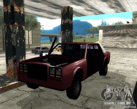 Derby Greenwood Killer para GTA San Andreas