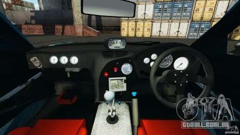 Mazda RX-7 RE-Amemiya v2 para GTA 4 vista de volta