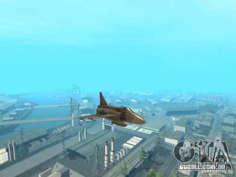 Saab JA-37 Viggen para GTA San Andreas