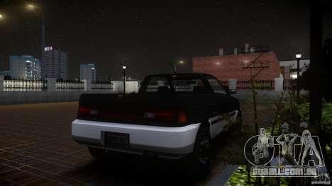 Blista Pick Up para GTA 4 vista direita