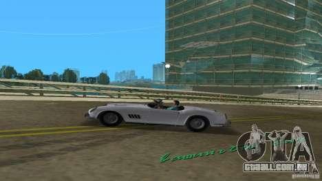 Ferrari 250 California 1963 para GTA Vice City vista traseira esquerda