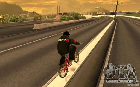 Jaqueta-ponto (G) para GTA San Andreas sétima tela