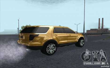 Ford Explorer Limited 2013 para GTA San Andreas vista direita