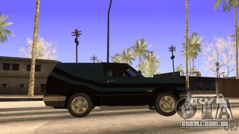 Sandking EX V8 Turbo para GTA San Andreas traseira esquerda vista