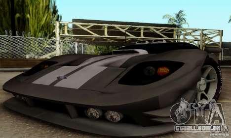 Ford GT Tuning para GTA San Andreas vista traseira