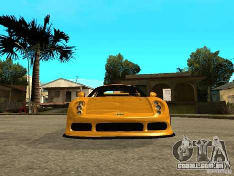 Noble M12 GTO Beta para GTA San Andreas vista direita