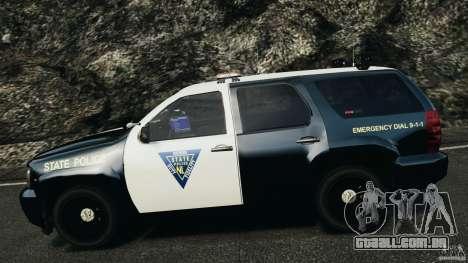 Chevrolet Tahoe Marked Unit [ELS] para GTA 4 vista superior