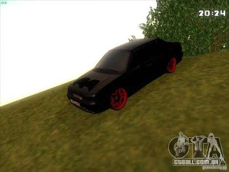 VAZ 2115 diabo Tuning para GTA San Andreas vista traseira