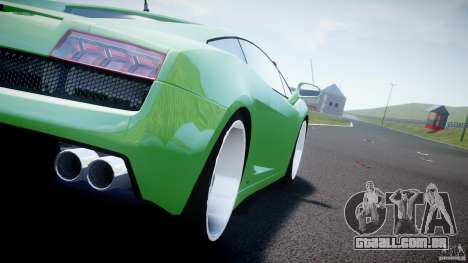 Lamborghini Gallardo LP 560-4 DUB Style para GTA 4 vista de volta