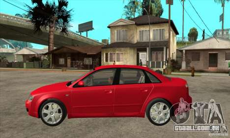 Audi S4 2004 para GTA San Andreas esquerda vista