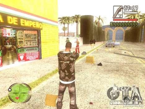 Wild Wild West para GTA San Andreas nono tela