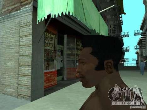 A NOVA CARA DO CJ para GTA San Andreas sexta tela