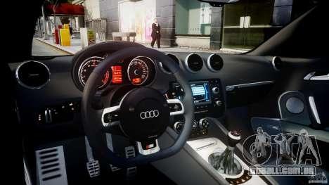 Audi TT RS Coupe v1.0 para GTA 4 vista direita