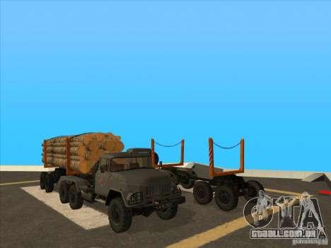 TMZ-802a para GTA San Andreas traseira esquerda vista