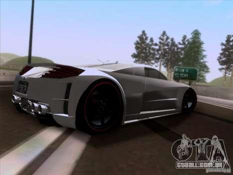 Chrysler ME Four-Twelve para GTA San Andreas vista direita