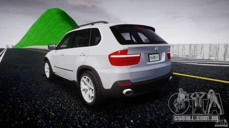 BMW X5 Experience Version 2009 Wheels 214 para GTA 4 traseira esquerda vista