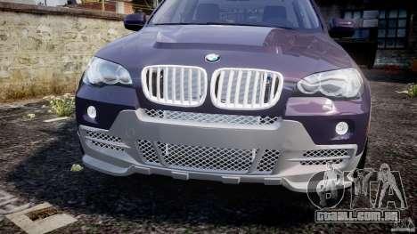 BMW X5 xDrive 4.8i 2009 v1.1 para GTA 4 vista interior