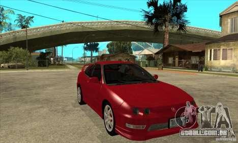 Acura Integra Type-R - Stock para GTA San Andreas vista traseira