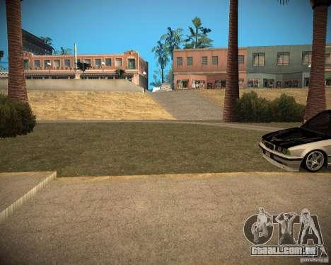 New textures beach of Santa Maria para GTA San Andreas oitavo tela