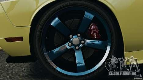 Dodge Rampage Challenger 2011 v1.0 para GTA 4 vista de volta