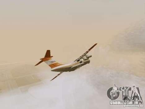 Ilyushin Il-76td para GTA San Andreas vista interior