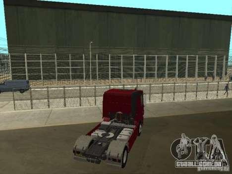 Mercedes Actros Tracteur 3241 para GTA San Andreas traseira esquerda vista
