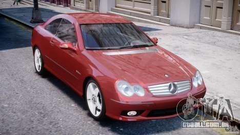 Mercedes-Benz CLK 63 AMG 2005 para GTA 4 vista lateral