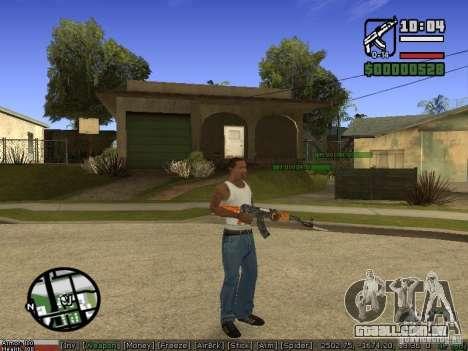Armas de Pak para GTA San Andreas segunda tela