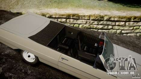 Plymouth Scamp 1971 para GTA 4 vista interior