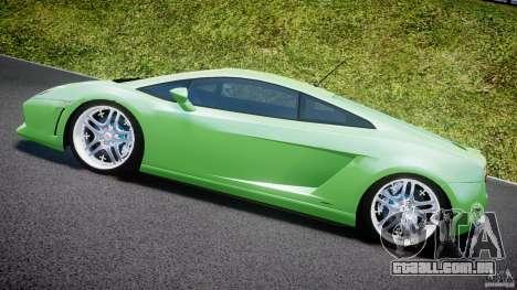 Lamborghini Gallardo LP 560-4 DUB Style para GTA 4 vista lateral