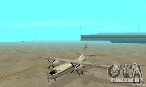 Antonov an-24 para GTA San Andreas